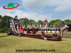 Inflatables Pirate Ship Slide