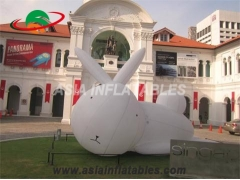 Inflatable Art Rabbit