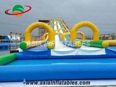 Inflatable Water Slide The City