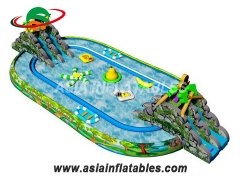 Outdoor Inflatable Ground Water Park