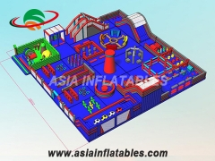 Kids Playground Inflatable Amusement Park
