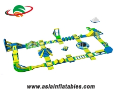 Inflatable Water Park Aqua Playground Inflatable Water Play Equipment. Top Quality, 3 Years Warranty.