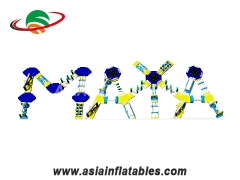 Floating Letter Model Water Park Inflatable Aqua Obstacle Course. Top Quality, 3 Years Warranty.