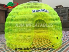 Blue Color Inflatable Bubble Tent