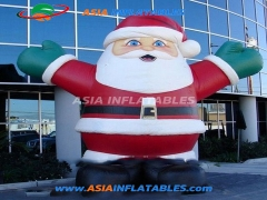 New Arrival Advertising Decoration Mascots Inflatable Christmas Santas