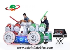 Exciting Interactive Inflatable Game Inflatable IPS Drum Kit Playsystem