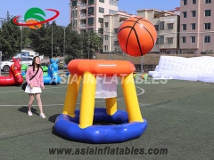 Inflatable Basketball Hoop Game