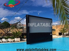 Water Floating Movie Screen