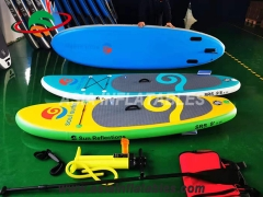 Inflatable Surfboards, Inflatable Surfboard Surfing Paddle Board Fin SUP and Durable, Safe.