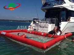 Inflatable Anti Jellyfish Pool With Netting Enclosure