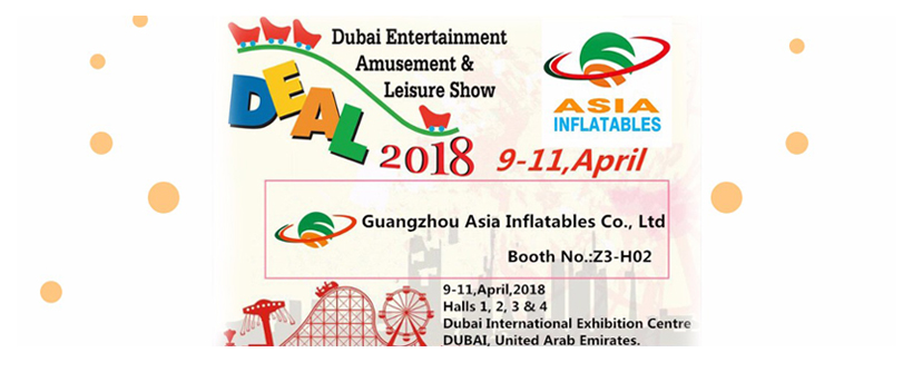 Dubai Entertainment Amusement & Leisure Show Asia Inflatable