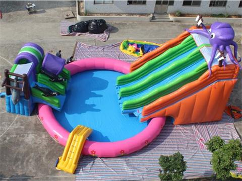 Inflatable Water Playground